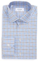 Eton Men's Contemporary Fit Plaid Dress Shirt