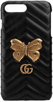 Gucci GG Marmont moth stud iPhone 7 Plus case