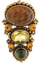 Stephen Dweck Multi-Stone Brooch Pin