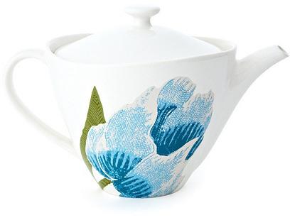 Batik Floral Teapot