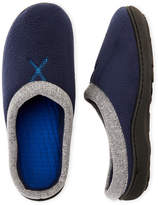 Isotoner Fleece Hoodback Slippers