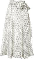 Lisa Marie Fernandez Polka Dot Beach Skirt