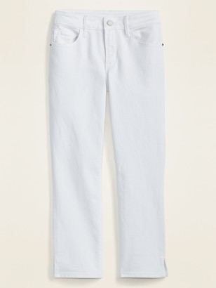 Old Navy Mid-Rise Skinny White Capri Jeans for Women