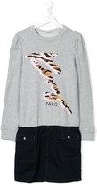 Kenzo sweatshirt dress - kids - Cotton/Polyester/Spandex/Elastane/Viscose - 14 yrs