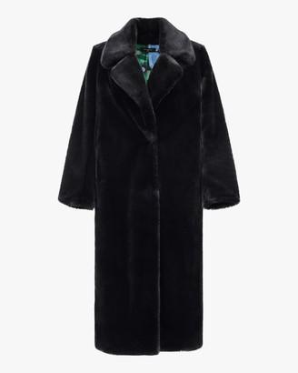 Heurueh Faux Fur Top Coat