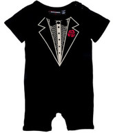 Rock Your Baby Boys Tuxedo Ss Playsuit (3M - 2Y)