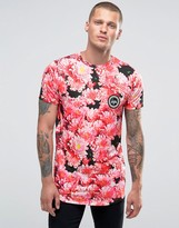 Hype T-shirt With Floral Print