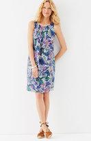 J. Jill Printed Linen Dress