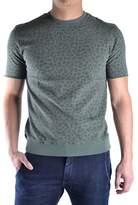 Daniele Alessandrini Men's Green Cotton T-shirt.