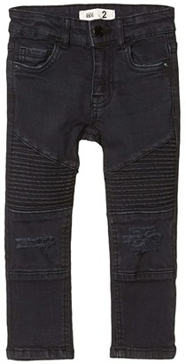 Cotton On Moto Jeans in Washed Black (Little Kids/Big Kids) (Washed Black) Boy's Jeans