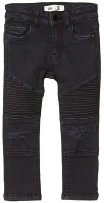 Cotton On Moto Jeans in Washed Black (Little Kids/Big Kids) (Washed Black) Boy's Jeans