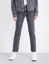 Calvin Klein Straight high-rise jeans