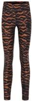 The Upside Tiger Yoga printed leggings