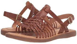 Børn Santiam (Tan Full Grain Leather) Women's Sandals