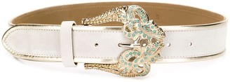 Pinko baroque buckle belt