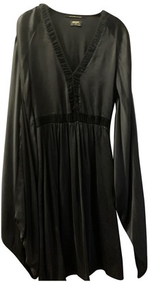 Rare Black Silk Dress for Women