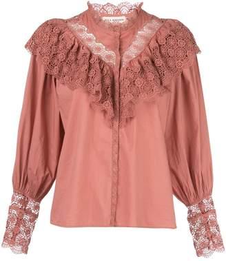 Ulla Johnson Ethel lace-trimmed blouse