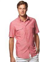 Chaps Men's Classic-Fit Chambray Utility Button-Down Shirt