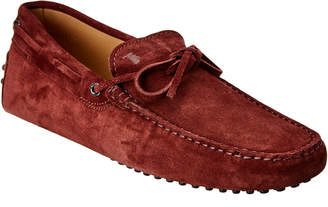 Tod's Gommino Suede Moccasin