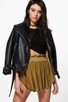 Boohoo Leah High Cut Shorts