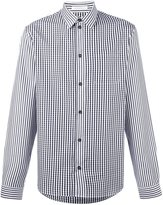 J.W.Anderson plaid shirt - men - Cotton - 46
