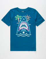 Hurley Neon Shark Boys T-Shirt