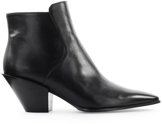 Roberto Festa Black Frediana Texan Style Ankle Boot