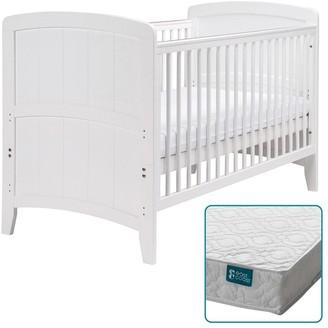 East Coast Nursery Venice Cot Bed & Spring Mattress