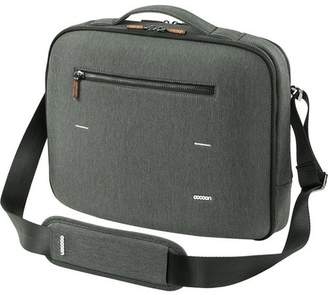 """Cocoon Carrying Case (Briefcase) for 15"""" MacBook Pro - Graphite - Water Resistant Exterior - Wood Puller, Ballistic Nylon Puller"""