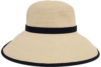 Bondi Beach Bag Co 3-7209 Cream Black (Sally Bucket Hat)
