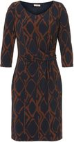 Vera Mont Graphic print jersey dress
