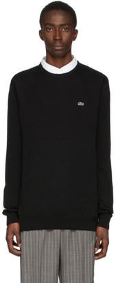 Lacoste Black Classic Logo Sweater