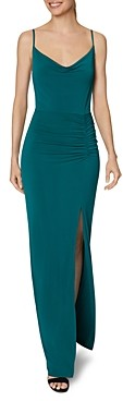 Laundry by Shelli Segal Cowlneck Gown