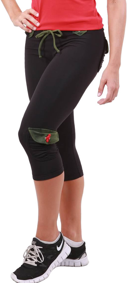 Body Angel Activewear Camo Pockets Capri