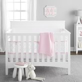 BreathableBaby Ultra Luxe 5 Piece Bedding Set, Pink by