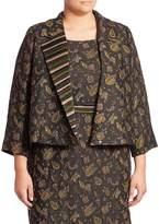 Max Mara Women's Chantal Elegante Floral Applique Jacket