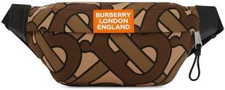 Burberry monogram print nylon Sonny belt bag