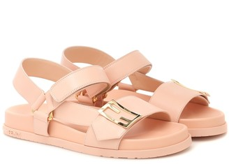 Fendi Leather sandals