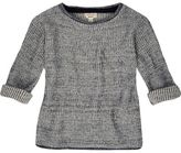 River Island Mini boys blue plaited sweater