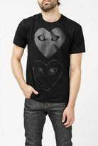 Comme des Garcons Play Hearts T-Shirt