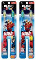 Reach Marvel Kids Soft Toothbrush with - 2ct