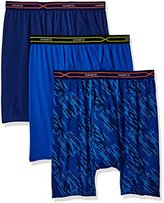 Hanes Red Label Men's 3-Pack X-Temp Performance Cool Boxer Brief (1 Print/2 Solids)