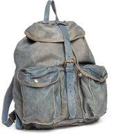 Ralph Lauren Indigo-dyed Calfskin Backpack