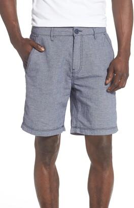 Onia Austin Linen Blend Shorts