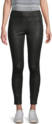 Supply & Demand Animal-Print Ponte Leggings