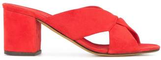 Alumnae heeled slippers