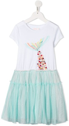 Billieblush Mermaid Tail Tulle Dress