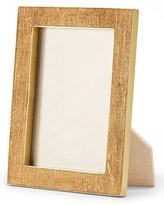 "AERIN Gold Linen Photo Frame, 4"" x 6"""