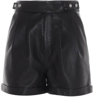 Saint Laurent Belted Shorts