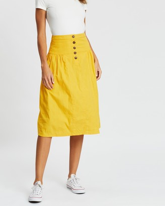 People Tree Epperly Skirt